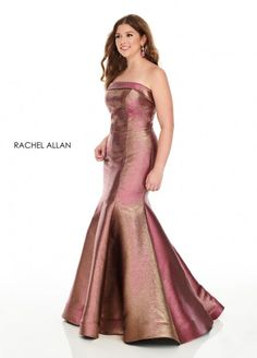 Rachel Allan Curves 7231 Shimmering Plus Size Dress