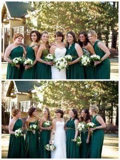 Green and gold wedding inspiration, via Aphrodite's World, www.aphroditesworld.com