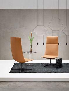 Arper - Catifa Sensit - High back lounge chairs