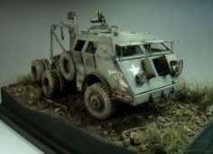 M26 Armored Tank Recovery Vehicle 1/35 Scale Model
