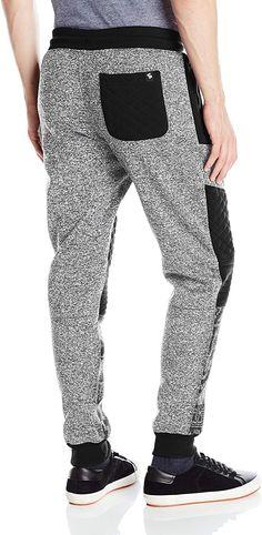 2e71edc136bb Amazon.com  Southpole Men s Jogger Pants Fleece with Biker Details and All  Over Prints
