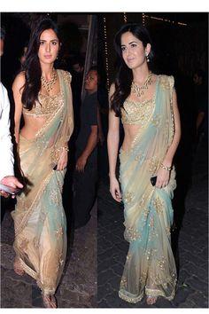 Bollywood Replica Katrina Kaif Bridal Saree