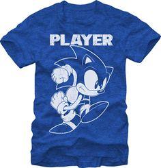 SONIC THE HEDGEHOG: THE PLAYER $19.95 To know more go http://streetlegaltshirts.com/ #T #Shirts #tshirt #t-shirt #movie