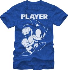 SONIC THE HEDGEHOG: THE PLAYER $19.95 To know more go http://streetlegaltshirts.com/ #T #Shirts #tshirt #t-shirt #movie