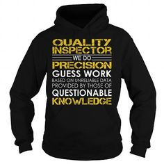 Quality Inspector Job Title T Shirts, Hoodies. Check price ==► https://www.sunfrog.com/Jobs/Quality-Inspector-Job-Title-Black-Hoodie.html?41382