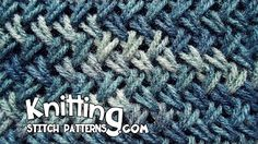 How to Knit the BAMBOO Stitch: Easy for Beginning Knitters - YouTube