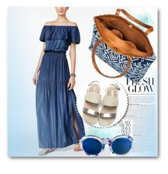 """""""summery dress"""" by ainzme ❤ liked on Polyvore featuring INC International Concepts, Mossimo Supply Co. and Linda Farrow"""