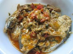 Stew fish is a popular way of cooking fish here in Trinidad and Tobago. Unlike the Jamaican Brown Stew fish, ours tend to be more on the red side because of the tomatoes and tomato paste etc. Seeing that we're in the Lenten season this fish recipe is even more popular and today, being Good...Read More »