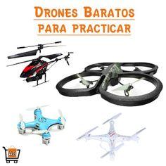 Los drones son los aparatos de moda, les traemos los mejores drones, sus categorías y los ideales para empezar a practicar con ellos, incluso tenemos drones baratos profesionales,