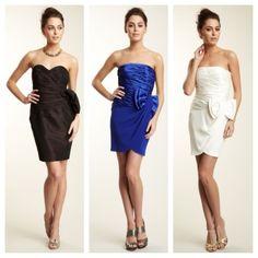 Short dresses!