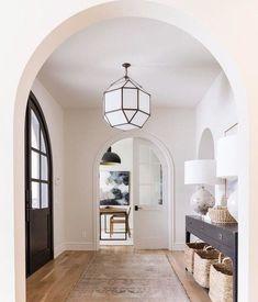 foyer design Entry Way Design, Foyer Design, E Design, Interior Design, Entry Furniture, Modern Entry, Entrance Foyer, Entryway, Large Lanterns