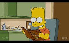 Bart leyendo