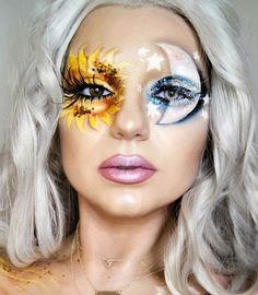 Halloween – Make-up Schminke und Co. Halloween – Make-up Schminke und Co. Fx Makeup, Makeup Tips, Hair Makeup, Makeup Ideas, 2017 Makeup, Face Makeup Art, Makeup Tutorials, Makeup Brushes, Nude Makeup