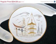 On Sale Today Vintage Enamel Brooch  In by TheJewelryLadysStore, $27.20