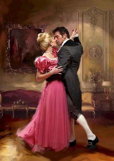 Romance Novel Cover... It's no secret I love this genre. Total saucy escapism. ;-)