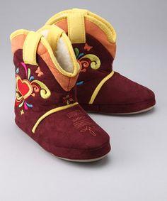 cowgirl slippers! So cute!
