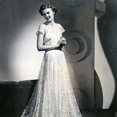 Vionnet - Robe de dentelle (1938)