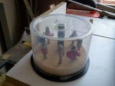 Up-Cycled CD Spindle to Storage for Router, Drill & Dremel Bits
