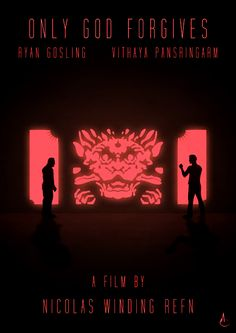 Only God Forgives (2013) ~ Minimal Movie Poster by Alex Colbourne ~ Nicolas Winding Refn Series #amusementphile