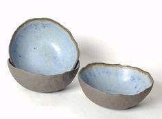 blue pinch bowls