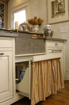 Wonderful undersink cabinet style that is ssentially a trash bin style pull out cut down on the sides. Samu Kitchen 1-15 (27)