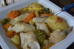 Greek Recipes, Cooking Time, Kai, Food And Drink, Fish, Chicken, Foods, Food Food, Food Items