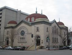 The Sixth & I Historic Synagogue is a non-traditional Jewish synagogue in Washington, D.C. It is one of the oldest synagogues in the city. The building was constructed by the Adas Israel congregation & dedicated in 1908, near what was then the center of the Jewish community in Washington. In 1951 the congregation sold its building. Three local Jewish developers saved the historic building from being turned into a nightclub & preserved it to its original roots as a synagogue.