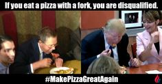 Never Eat Pizza with a Fork. It's Embarrassing.