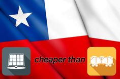 Unsubsidised solar cheaper than fossil fuels in Chile. http://www.solarquotes.com.au/blog/unsubsidised-solar-cheaper-fossil-fuels-chile/