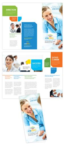 Career Fair Tri Fold Brochure Template  Career fair tri fold brochure template will be a good choice for presentations on career fair. Find templates - download tri fold brochure template, edit & print!