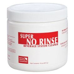 National Chemicals Super No-Rinse Beverage System Cleaner