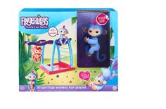 Fingerling Playset Baby Monkey Liv Wowwee EXCLUSIVE Play Swing Bar Kids Xmas Toy #WowWee