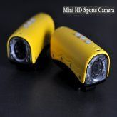 Mini HD Sports Camera (720p, 30 Meter Waterproof, 4 White + 4 IR LEDs, Motion Detection)