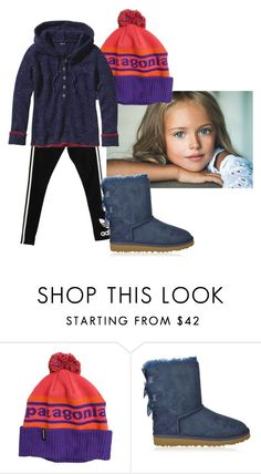 """Untitled #328"" by flashinglights-397 on Polyvore featuring adidas Originals, Patagonia, UGG Australia, women's clothing, women's fashion, women, female, woman, misses and juniors"