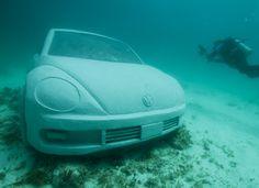 Artificial Reef  VW Beetle
