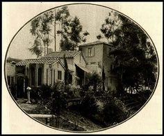 Barbara LaMarr  6672 1/2 Whitley Heights Terrace  Whitley Heights (Hollywood Hills) Brown stucco and red-tiled roof