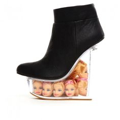 Jeffrey Campbell 'Ice Doll', black, $254.95 Irregular Choice exclusive. This could be the perfect shoe.