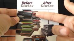 Discsox DVD Pro Sleeves - How I organize my DVD collection