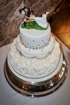 #rugby #wedding #cake