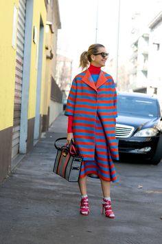 """Street style, неделя моды в Милане. Модные идеи 2015   Журнал Стилиста """"Город Мод"""""""