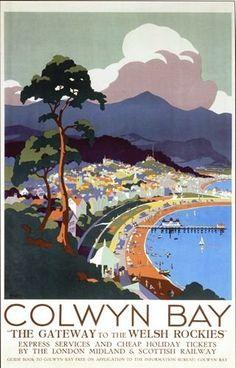 Vintage LMS Colwyn Bay Railway Poster A3 Print by Vintage... https://www.amazon.co.uk/dp/B00FCVQTZ2/ref=cm_sw_r_pi_dp_x_sujeybM5T9Z99