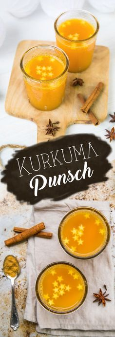 Kurkuma Punsch Alkoholfrei - Rezept Vegan & glutenfrei von meinem veganen Foodblog. #vegan #glutenfree #healthy #recipe #easy #xmas #weihnachten #winter #rezept www.foodreich.com