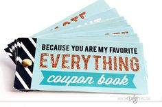 The Five Senses Coupons. LOVE that quote - You are my favorite EVERYTHING!!