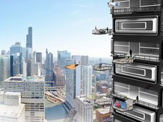 Its Time for Fancy Apartments to Offer Balconies for Drone Landings #ITBusinessConsultants