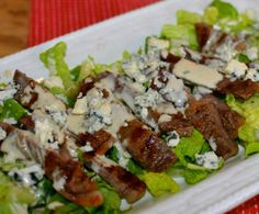 Southern Soul: Grilled Steak Salad with Creamy Vinaigrette Dressing, steak salad creamy avocado dressing, Cobb Salad With Creamy Avocado Cilantro Lime Dressing Steak Salad Dressing, Vinaigrette Salad Dressing, Avocado Dressing, Lime Dressing, Salad Dressings, Steaks, Steak Recipes, Cooking Recipes, Grilled Recipes