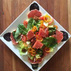 Egg Grapefruit Diet - Mixed Salad