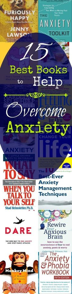 Best books for overcoming anxiety. All the books on anxiety you will need to get it under control.