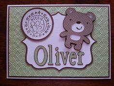 Create a critter baby card