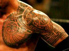Tattoo The Rock ..