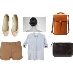 Shirt. Shorts. Shoes.